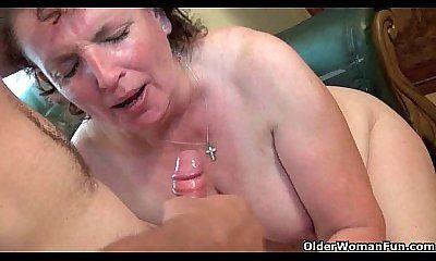 Chubby moms tube