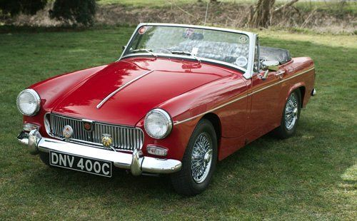 Mg midget car clubs