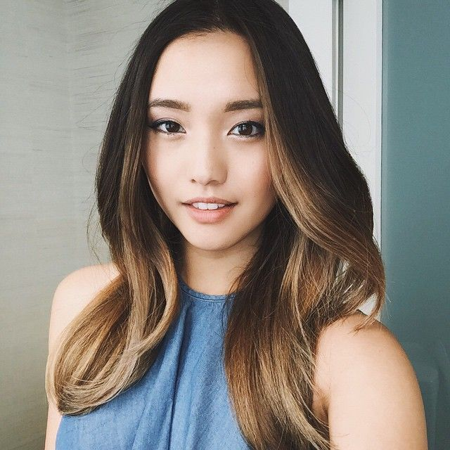 Asian hair color dye