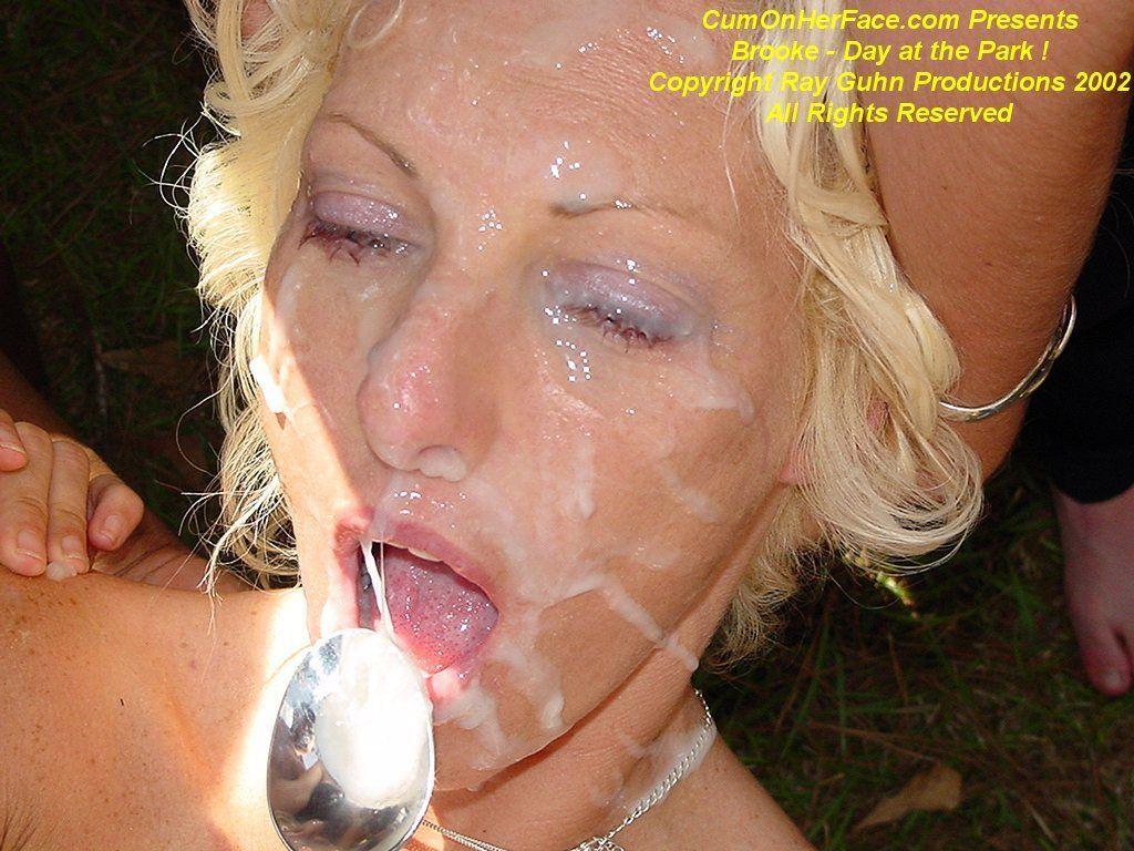 Dollface reccomend Blonde bukkake thumbnail