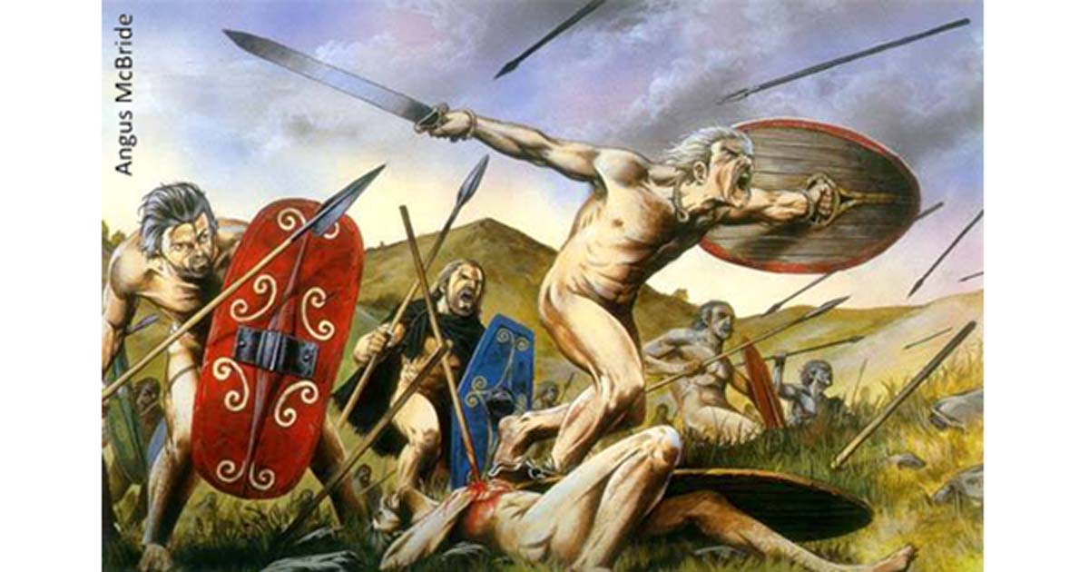 Ancient naked war