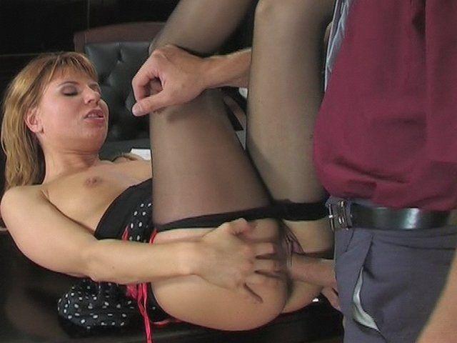Secretary pantyhose movie