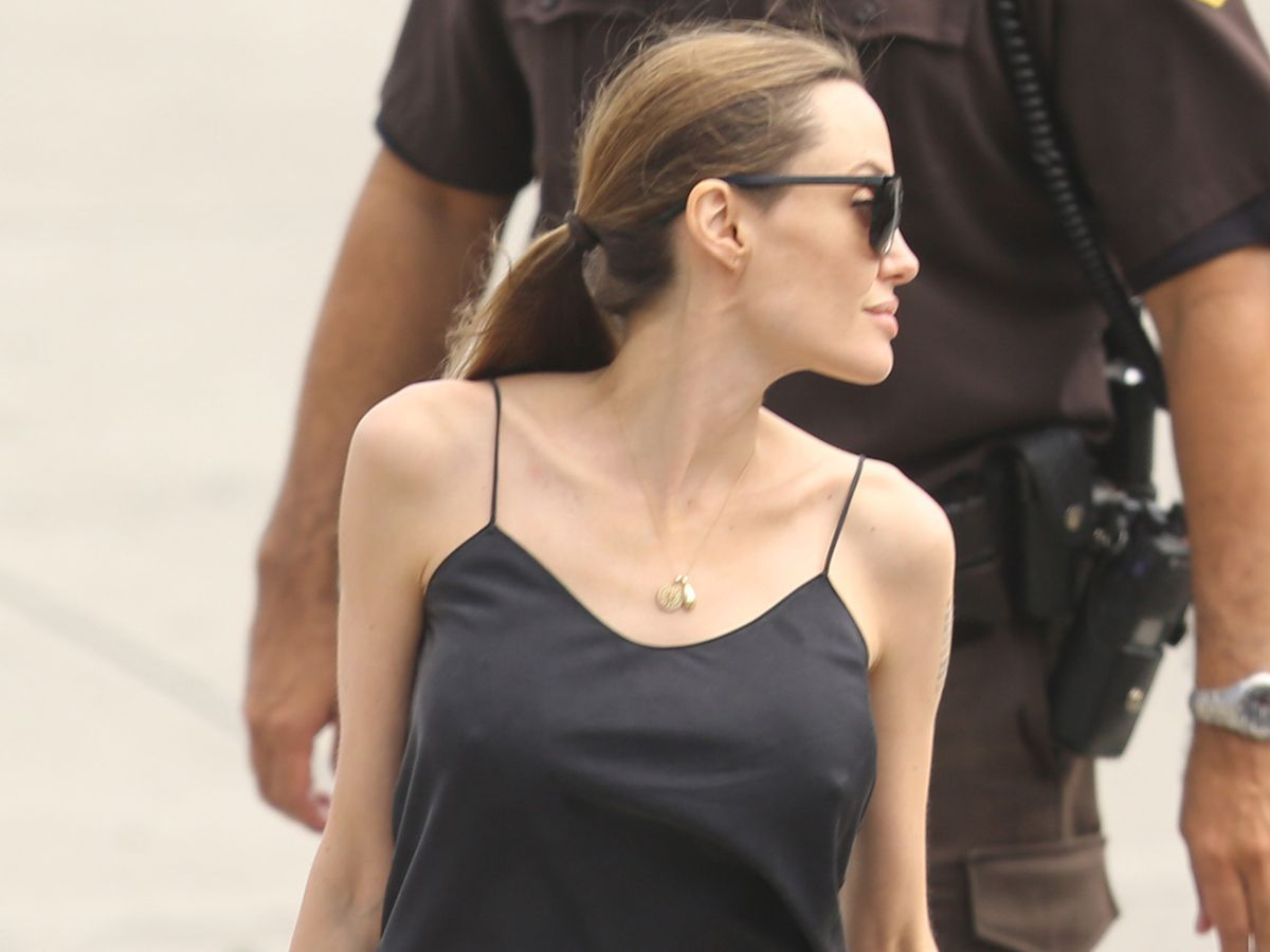 Something is. angelina jolie softcore pics