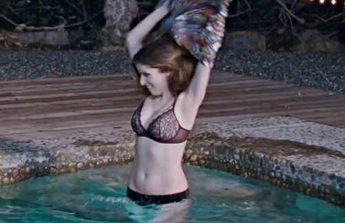 Apologise, Anna kendrick spread pussy under pantyhose