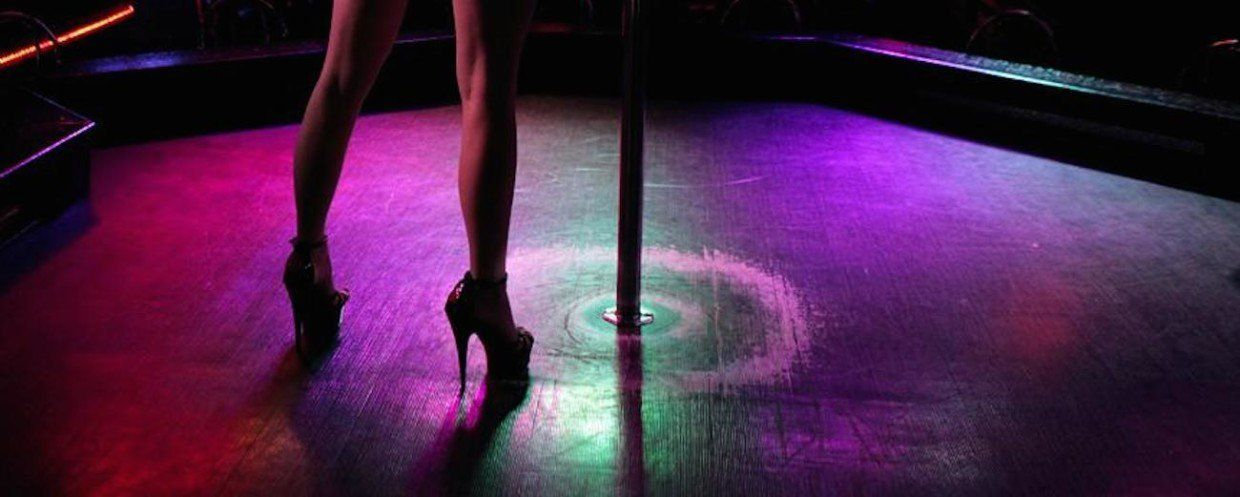 best of Afront prostitution strip clubs Are for