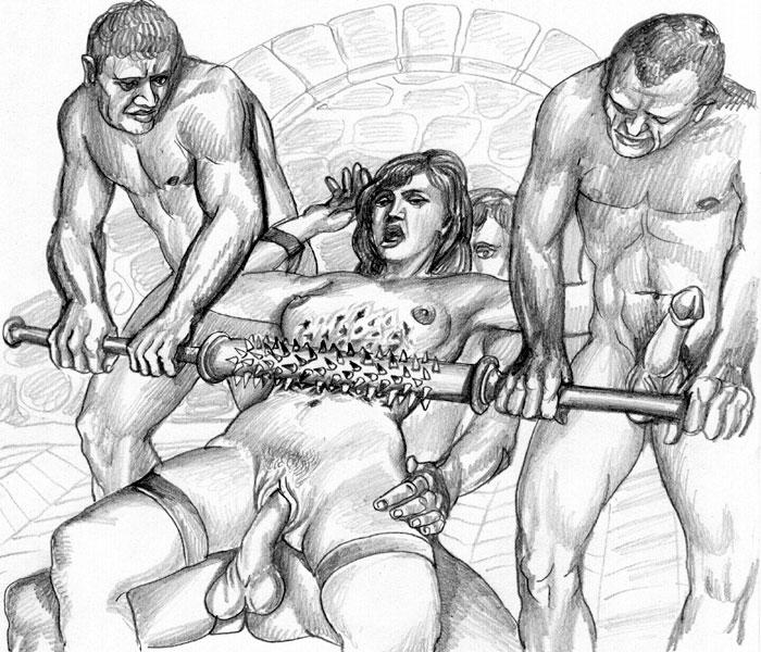 Bdsm pain art