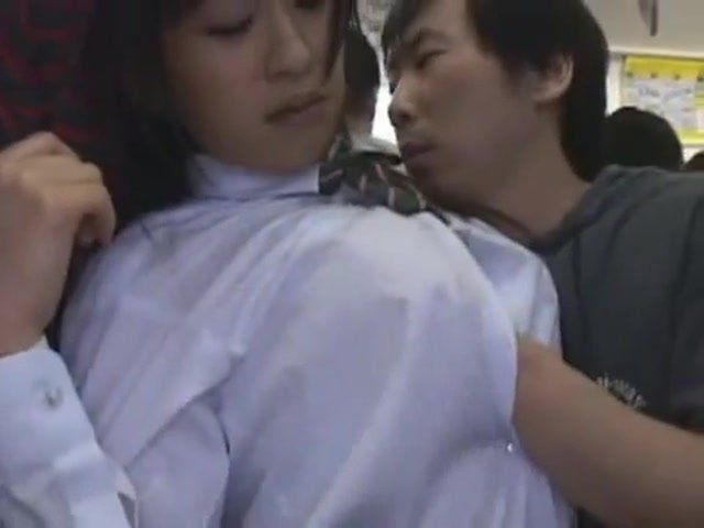 Asian girl gropers