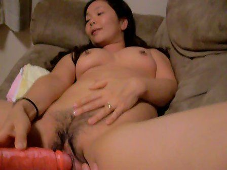 Horny lady with a dildo talented phrase