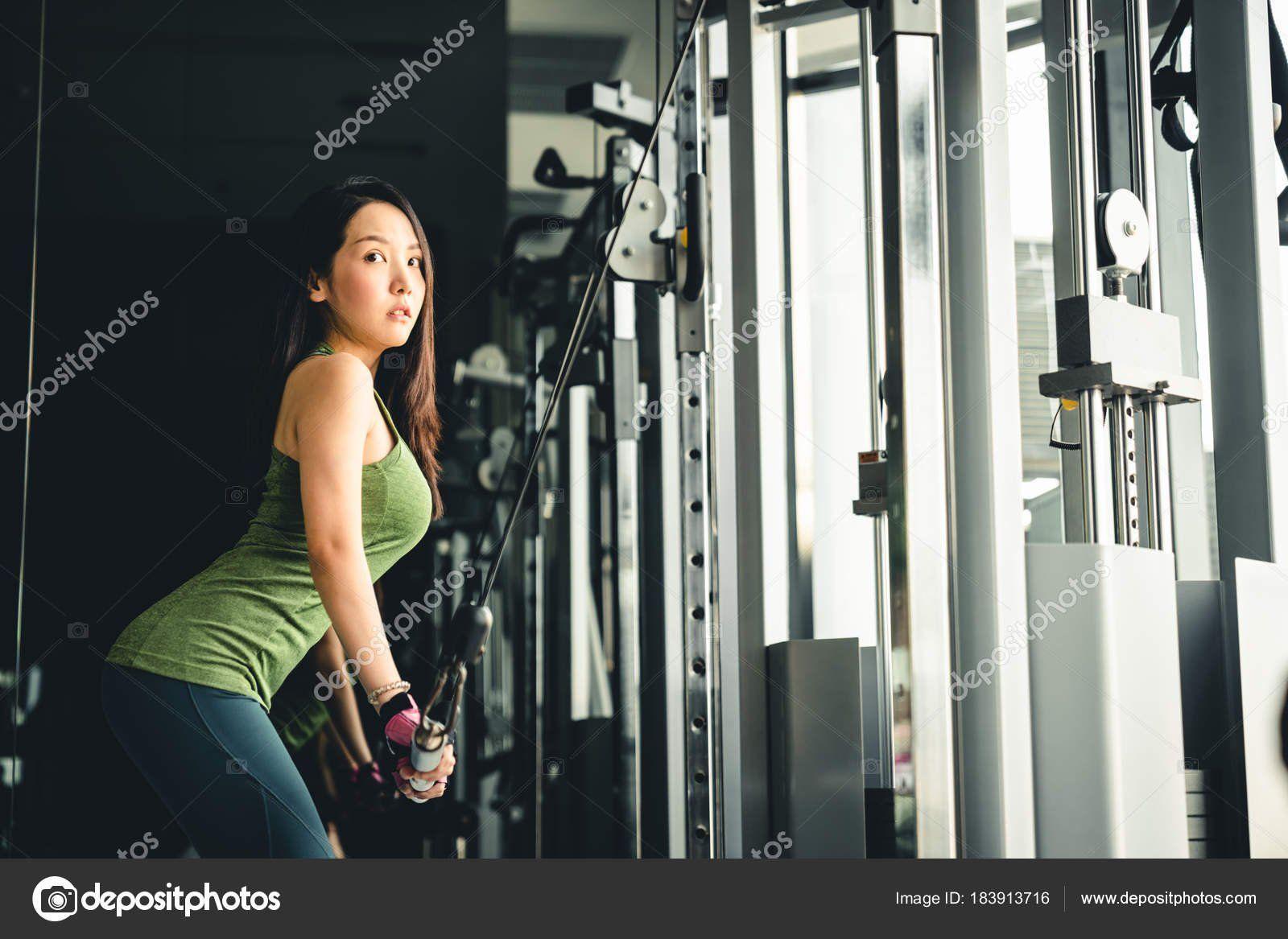Asian machine girl