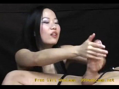 Asian women hand job