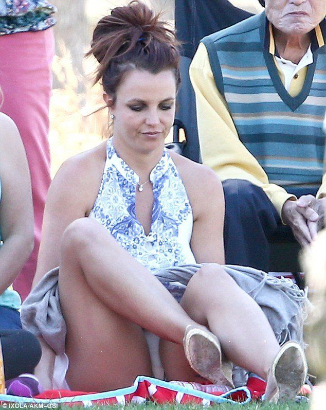 Opinion very upskirt brittany spears pics free with