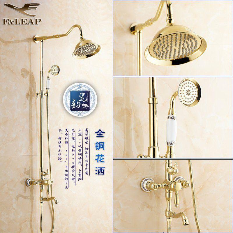 best of Shower Retro golden