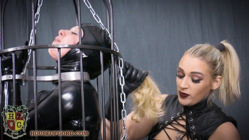 Emerald reccomend Bdsm control cage