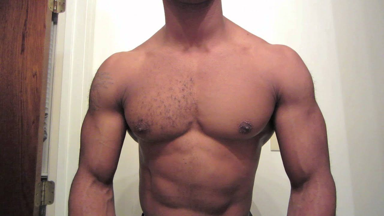Body male shaved