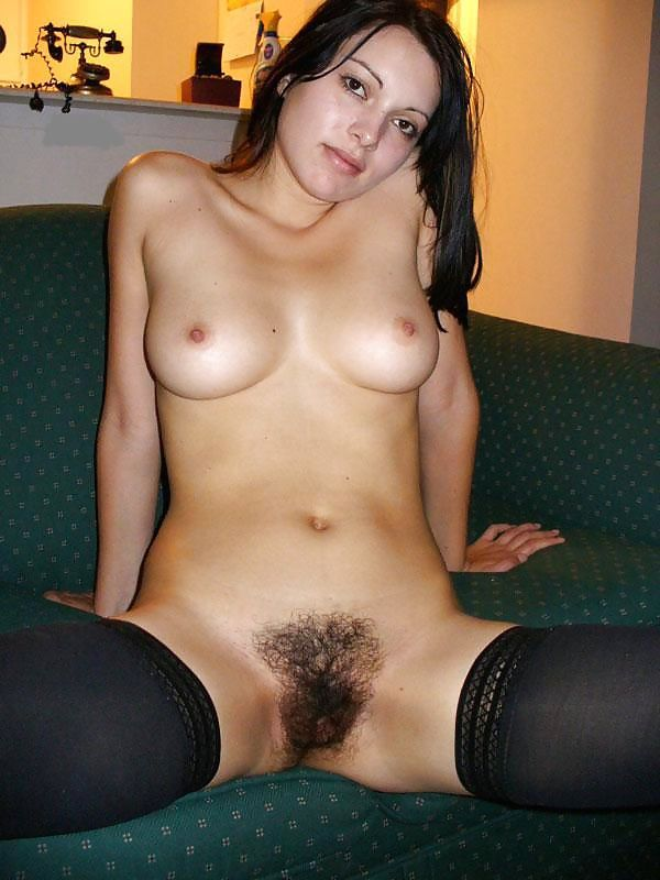Hairy Naked Black Vagina