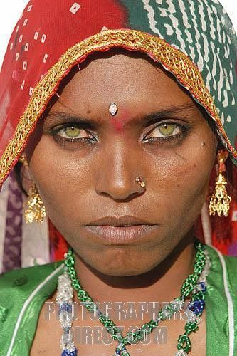 The L. reccomend East indian facial features
