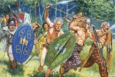 Ancient naked war