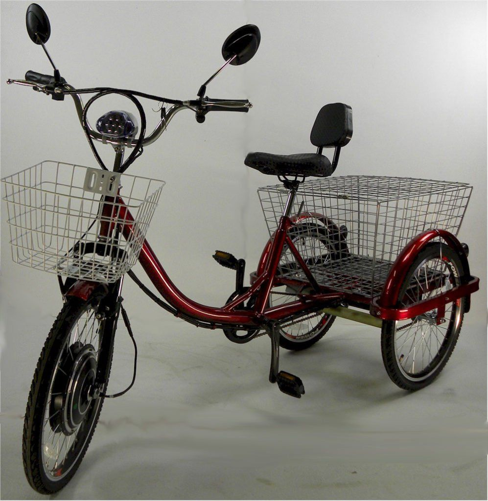 Calfornia style adult tricycles