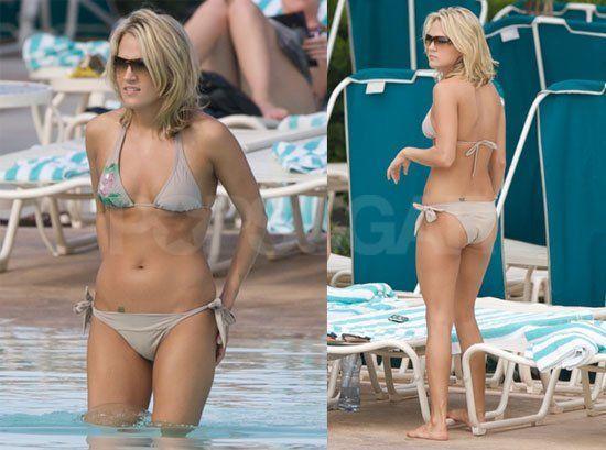 Crusher reccomend Carrie underwood new bikini pics