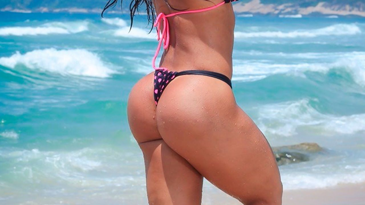 Big booty girls on bikini opinion you