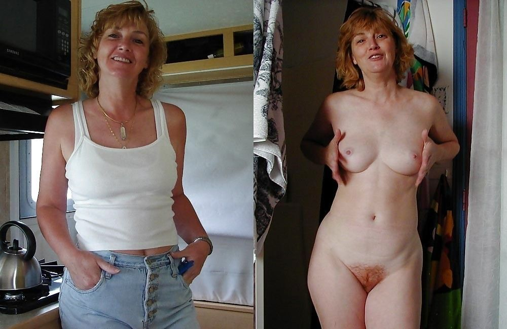Women Naked And Clothed