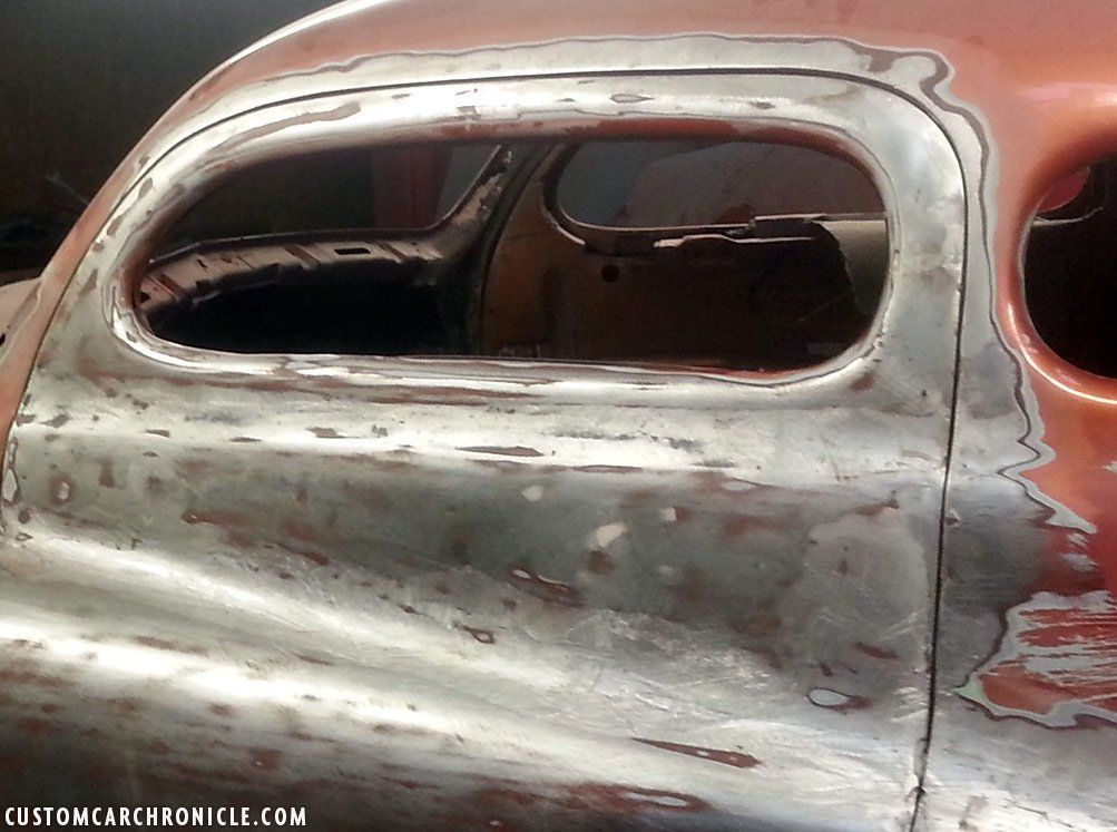 Shaved car doorhandle covers