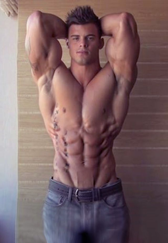 best of Teen naked Muscle