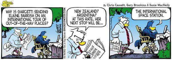 Herald reccomend Daily online comic strip
