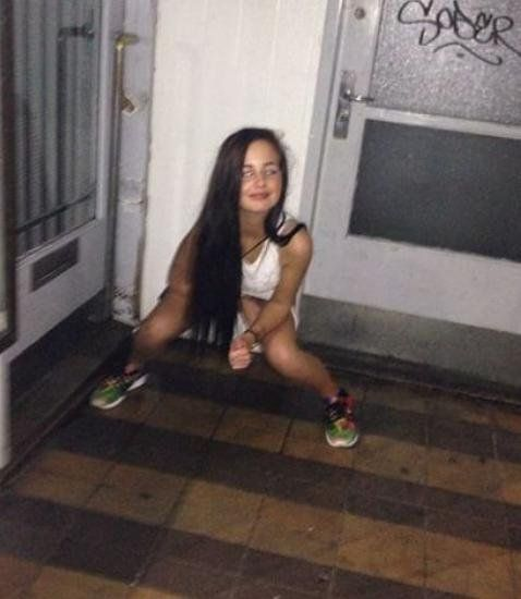 Useful Piss on drunk chick idea)))) opinion