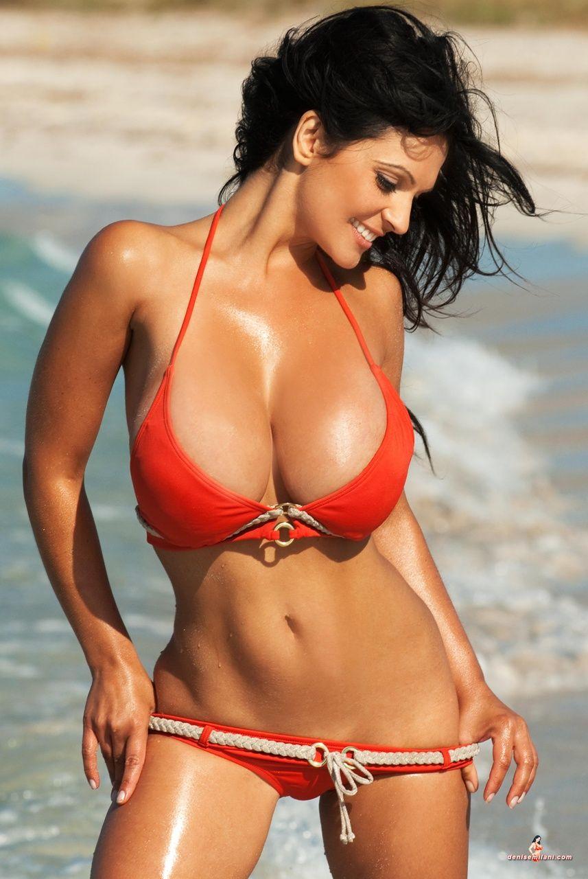 Champagne reccomend Dinise masino red bikini