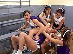 Cheerleader Gang Bang Porn - Lesbo gang bang cheerleaders . Adult archive. Comments: 3