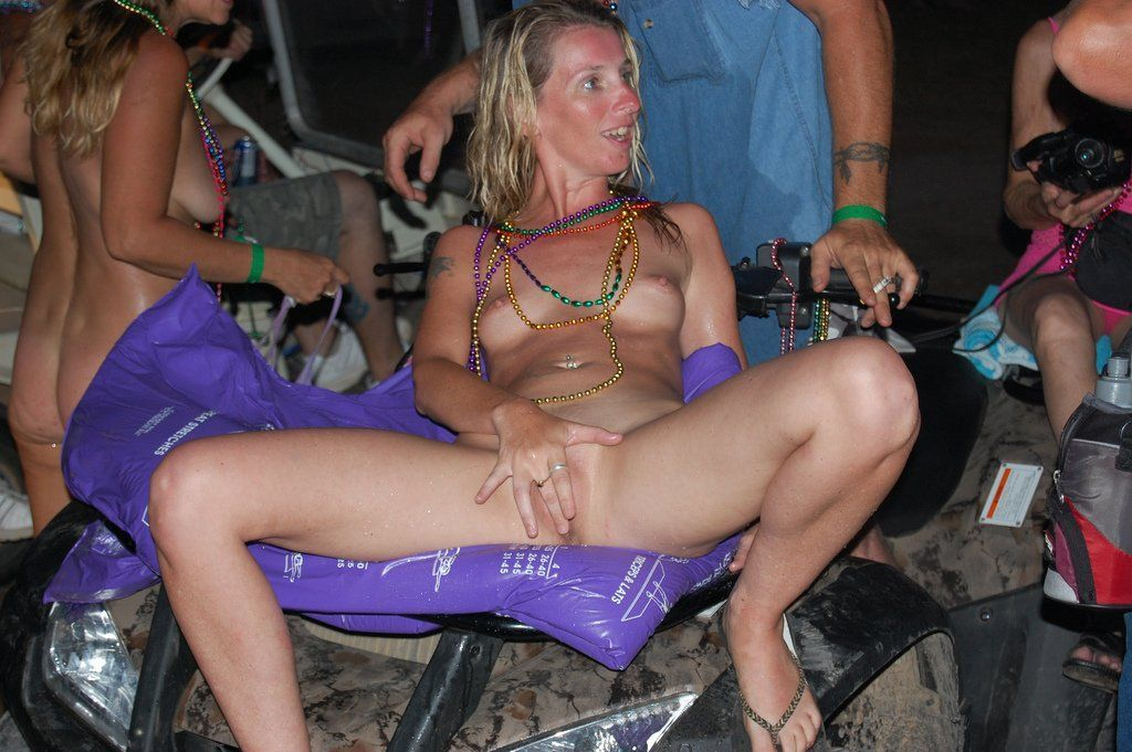 Biker rally babes naked 2009 pity, that