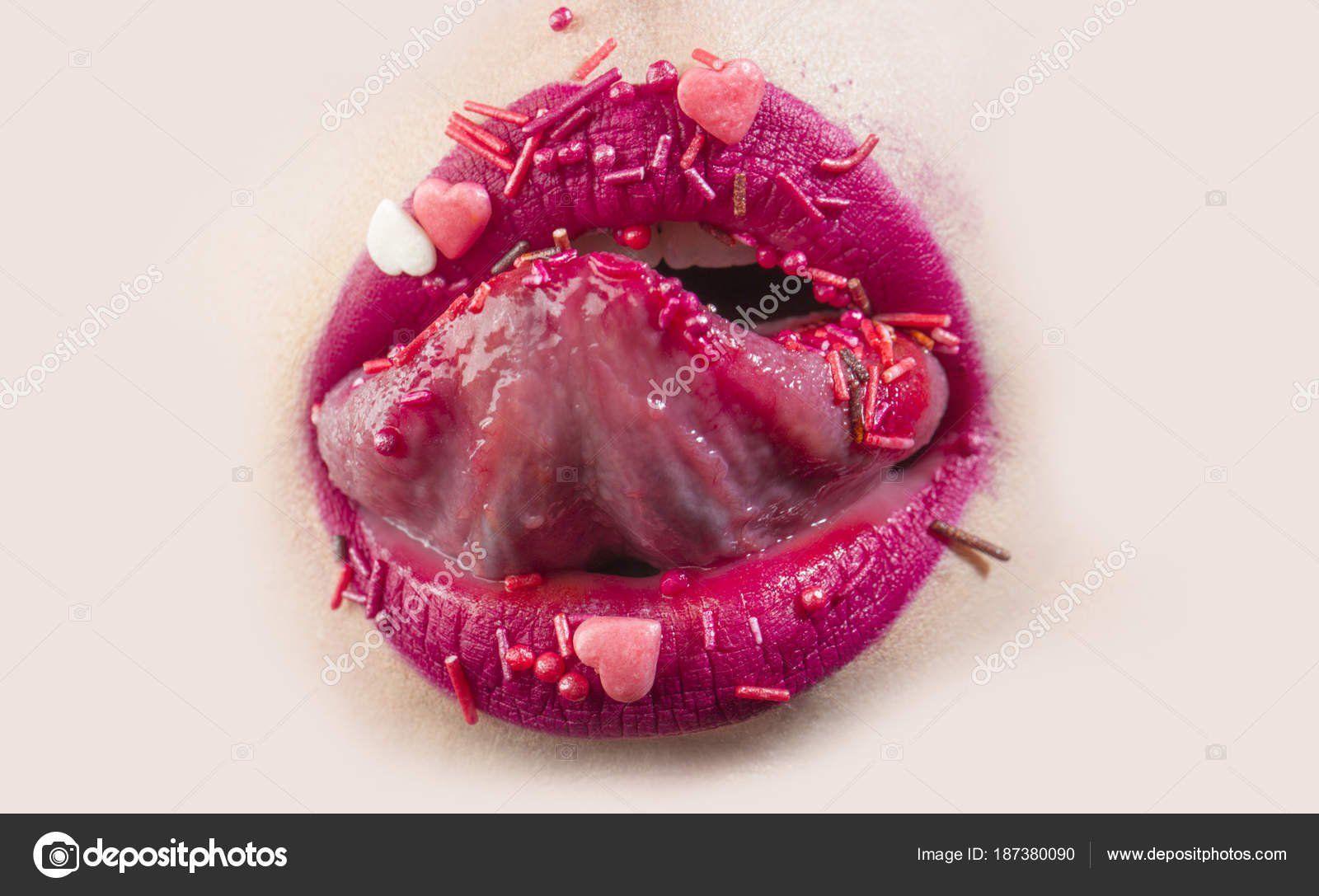 Erotic pinl lips