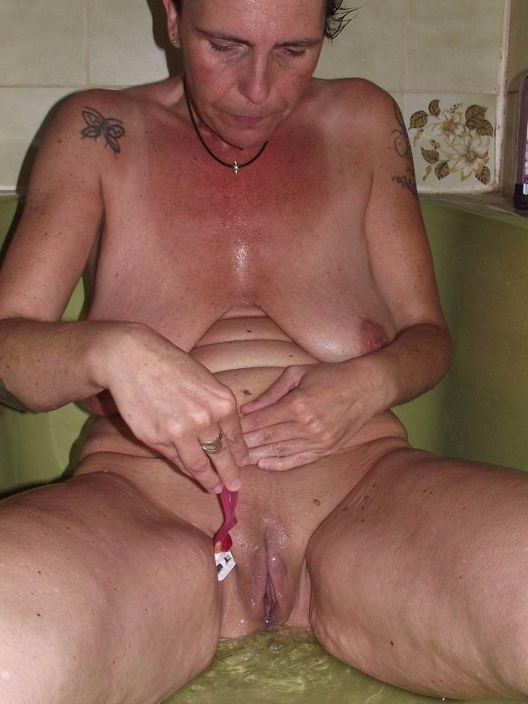 best of Shower Mature shaved