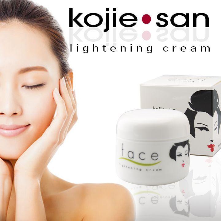 Buzz A. reccomend Facial whitening creams