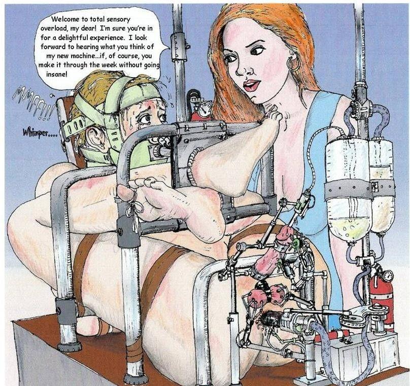 Toon lesbian torture