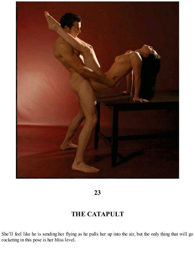 Flying camel sex position