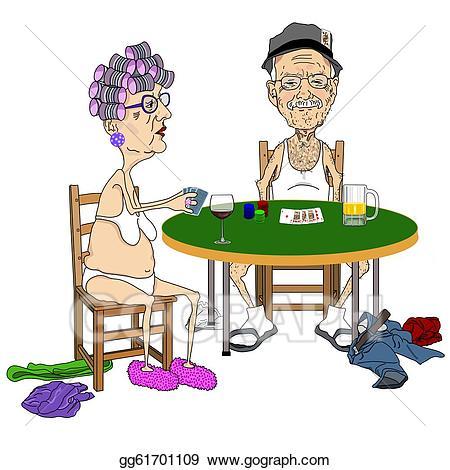 Dreads reccomend Free older playing poker strip woman