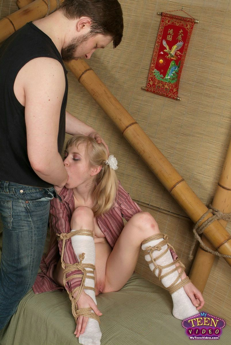 Tied up teens xxx