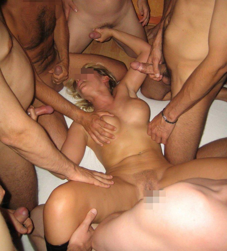 Gangbang party video amature