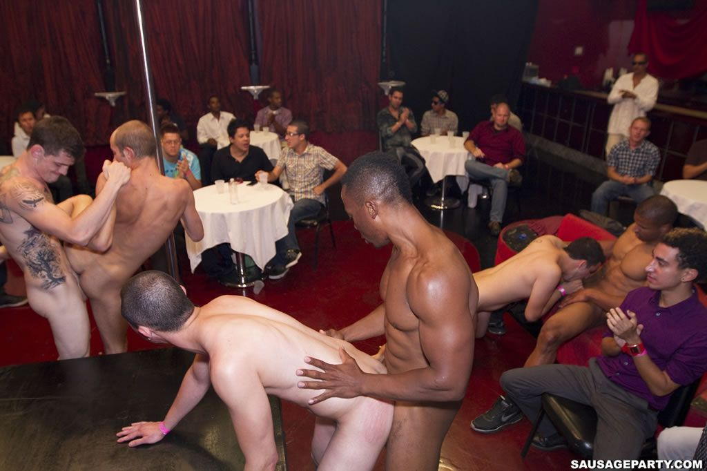 Male party nude strippers
