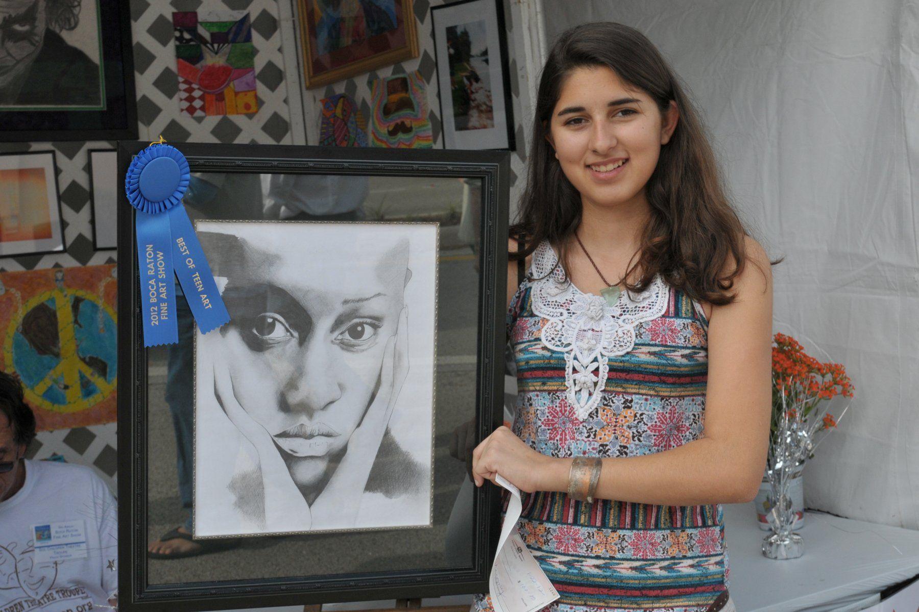 Girls teen art photos
