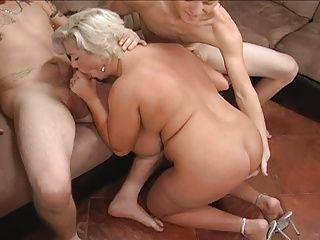 Boomerang reccomend Granny threesome very old
