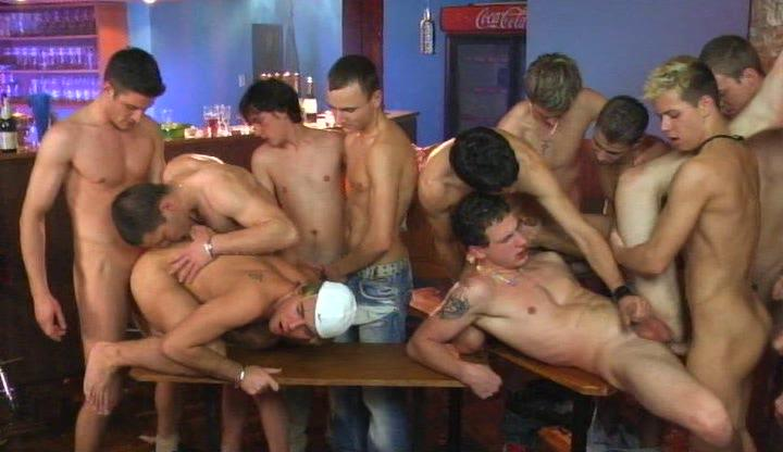 Twinks having a party