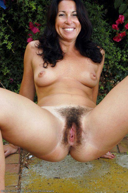 Hairy woman milf