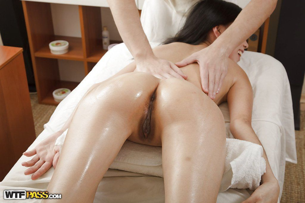 Asian nude massage