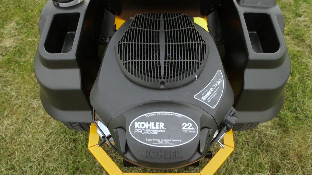 Lawnmower hustler zeroturn
