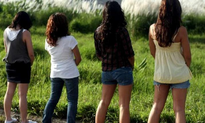 best of Girl peeing India
