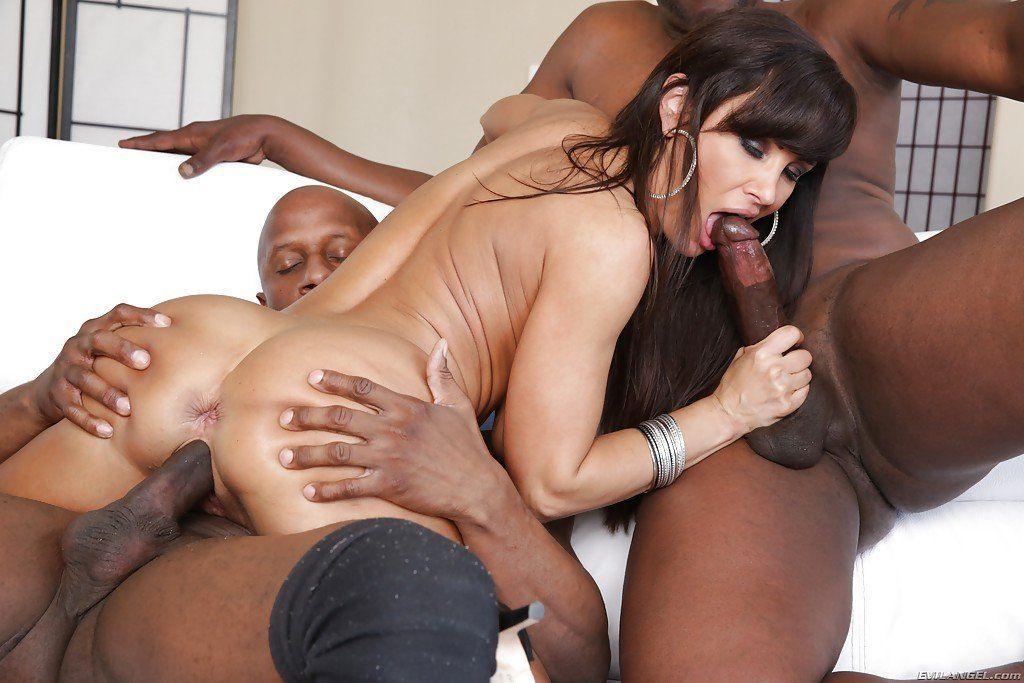 Lisa ann interracial porn