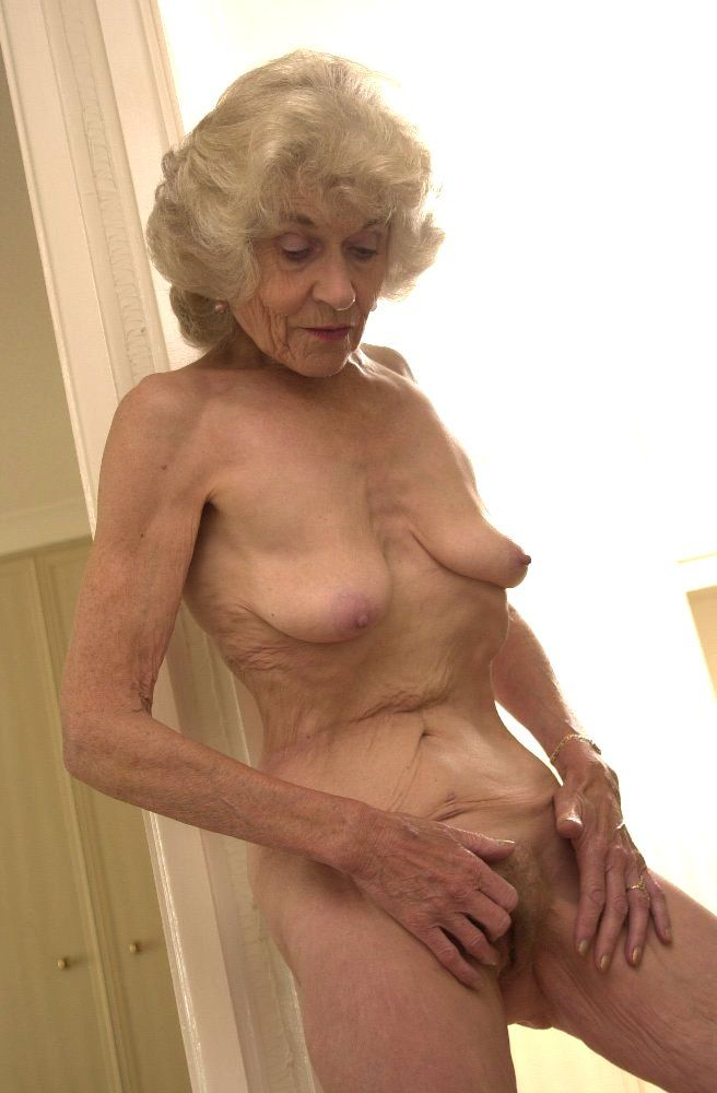 Naked mature granny nude not